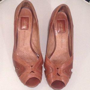 Clarks Artisan wedge heels